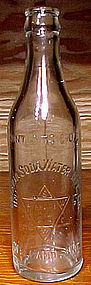WELLAND, ONT. ONTARIO SODA WATER EMBOSSED BOTTLE