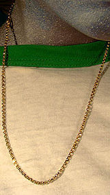 Victorian 9K Handmade Links NECKLACE CHAIN