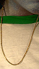 Victorian 9K NECKLACE CHAIN 19thC Handmade Links