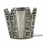 Massive Margot de Taxco Mexican Sterling Silver Bracelet 183Gr
