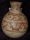 Pre-Columbian ~ HUARI / WARI ~ Polychrome Vessel