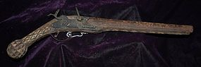 Antique ~ ISLAMIC PISTOL ~ 1830's - 1840's