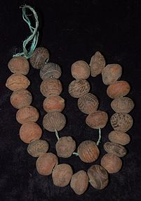 Pre-Columbian ~ MANTEñO ~ Spindle Whorls ~ Ecuador