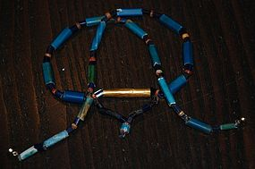 Pre-Columbian NECKLACE ~ Old Trade Beads ~Contact Beads