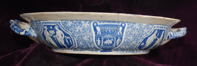 19th  Century ~ SPODE ~ Plate Warmer