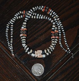 Pre-Columbian ~ MOCHICA ~ Double-Stranded NECKLACE