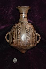 Pre-Columbian ~ INCA / INKA ~ Polychrome ARIBALO