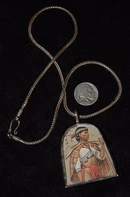 Native Philippine Indian ~  Silver NECKLACE