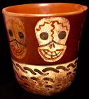 Pre-Columbian Skull Cup Culture Nazca [100 BCE-2nd C.]