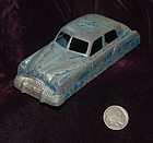 TOOTSIE TOY ~ Cast Iron Blue Toy CAR ~ 1930's - 1940's