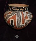 Native American Indian ~ JEMEZ ~ Polychrome BOWL