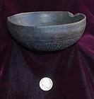 Pre-Columbian ~ CHIMU ~ Blackware BOWL