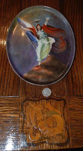 Rare ~ T & V ( Tresseman & Vogt ) FRENCH Porcelain PLATE