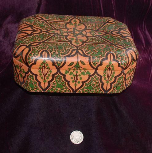 Beautiful ~ MOROCCAN ~ Ceramic  Box