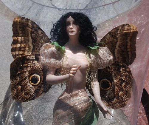 Beautiful Porcelain  FAIRY ~ Susan Snodgrass