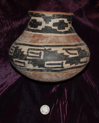 Pre-Columbian ~ MAYAN ~ Terracotta Polychrome BOWL