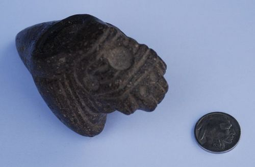 Pre-Columbian ~ CHAVIN ~ Stone Zoomorphic MACE HEAD