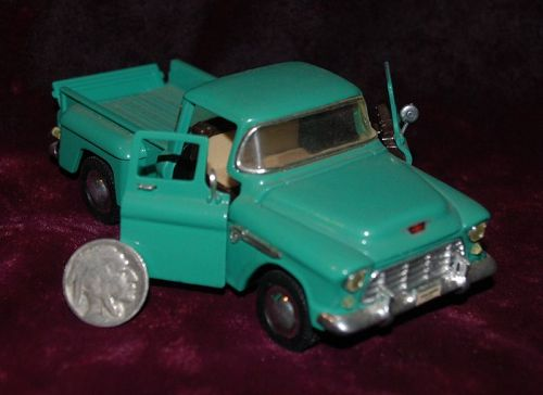 1955 CHEVY Stepside SS 5602 ~ Green Toy Pickup TRUCK