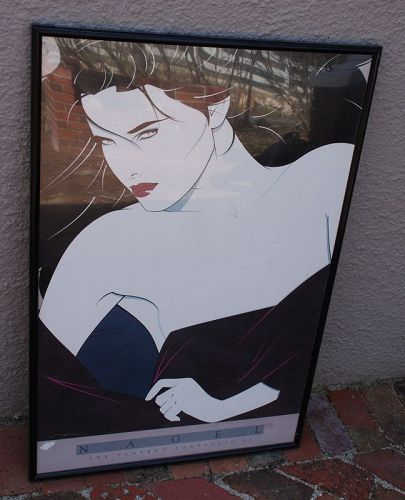 Framed ~ PATRICK NAGEL ~ The Playboy Portfolio II Poster