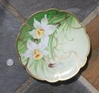 1930's Hand-painted ~ Decorative PLATE ~ Made in Austria