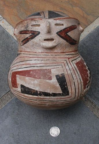 Native American Indian ~ ANASAZI ~ Anthropomorphic VESSEL