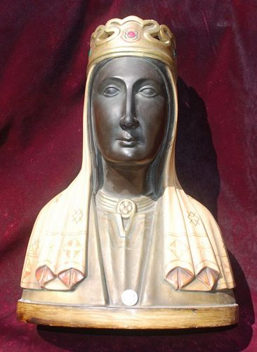 VIRGIN OF MONTSERRAT ~ Patroness of Catalonia ~ Bust