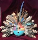 Native American Indian ~ KACHINA ~ Gourd Mask  DF 98