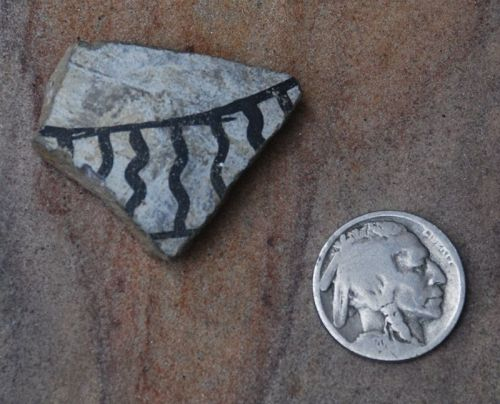 Pre-Columbian ~ PUEBLO BONITO / CHACO CANYON  ~ Shard