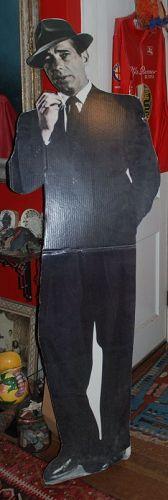 HUMPHREY BOGART ~ Cardboard Cutout Standup Poster
