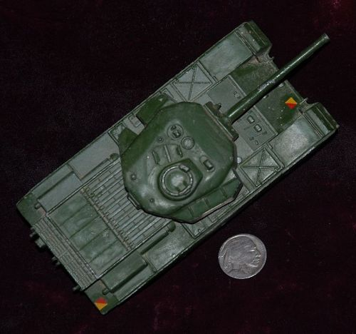 DINKY Supertoys ~ Centurion Military  Toy TANK   # 651 ~ 1950's