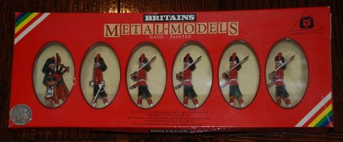 Britain's Metal Models (6) ~ Hand-painted # 7237 ~ Toy FIGURINES