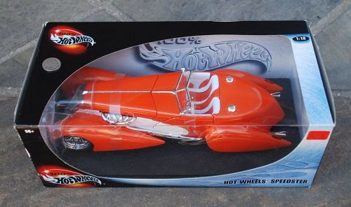 Mattel ~ Hot Wheels Orange AUBURN ~ Speedster ~ NIB ~ Sealed