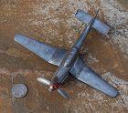 World War II ~ WWII ~ Metal Toy AIRPLANE ~  Sicily 1944