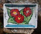 Beautiful Vintage ~ Porcelain ~ TRAY ~ 1960's