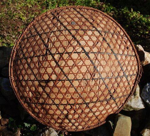 Antique African ~ Straw BONNET ~ 1920's - 1930's