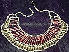 Beautiful ~ EGYPTIAN ~ Metal & Stone Beads Necklace