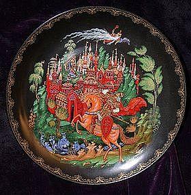 RUSLAN & LUDMILLA ~ Russian Porcelain Plate