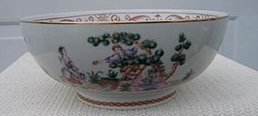 "C.1950 WINTERTHUR ADAPTION ""CHERRY PICKER"" BOWL"