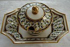 18TH. CENTURY SEVRES FRENCH UNUSUAL COVERED CONDAMINT