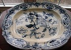 "CIRCA 1850 ENGLISH STAFFORDSHIRE ""INDIA FLOWERS"""