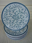 TONQUIN ROYAL STAFFORDSHIRE 12 SERVICE PLATES