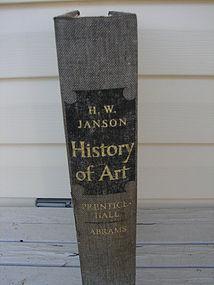 H. W. JANSON, HISTORY OF ART