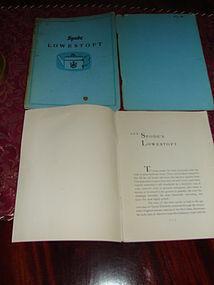 SPODE LOWESTOFT BOOK