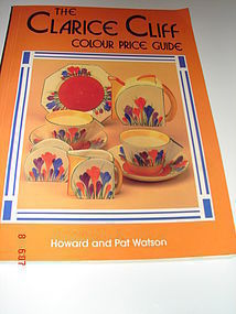 C. 1930 CLARICE CLIFF COLOUR PRICE GUIDE