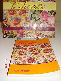 TWO REFERENCE BOOKS ON ENGLISH CHINTZ