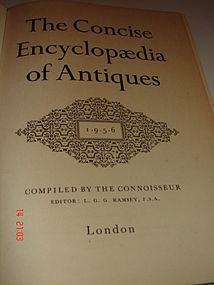 THE CONCISE ENCYCLOPEDIA OF ANTIQUES