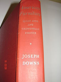 JOSEPH  DOWNS AMERICAN FURNITURE FEDERAL 1ST. ED. 1952