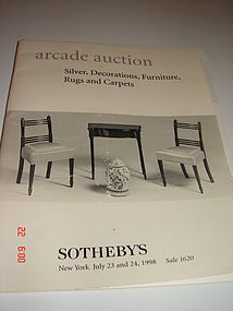 ARCADE AUCTION,SOTHEBY'S,NEW YORK