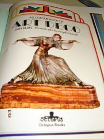 ALL COLOR BOOK OF ART DECO,DAN KLEIN