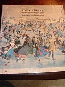 FINE AMERICANA SOTHEBY'S PARKE BERNET,1/31/79